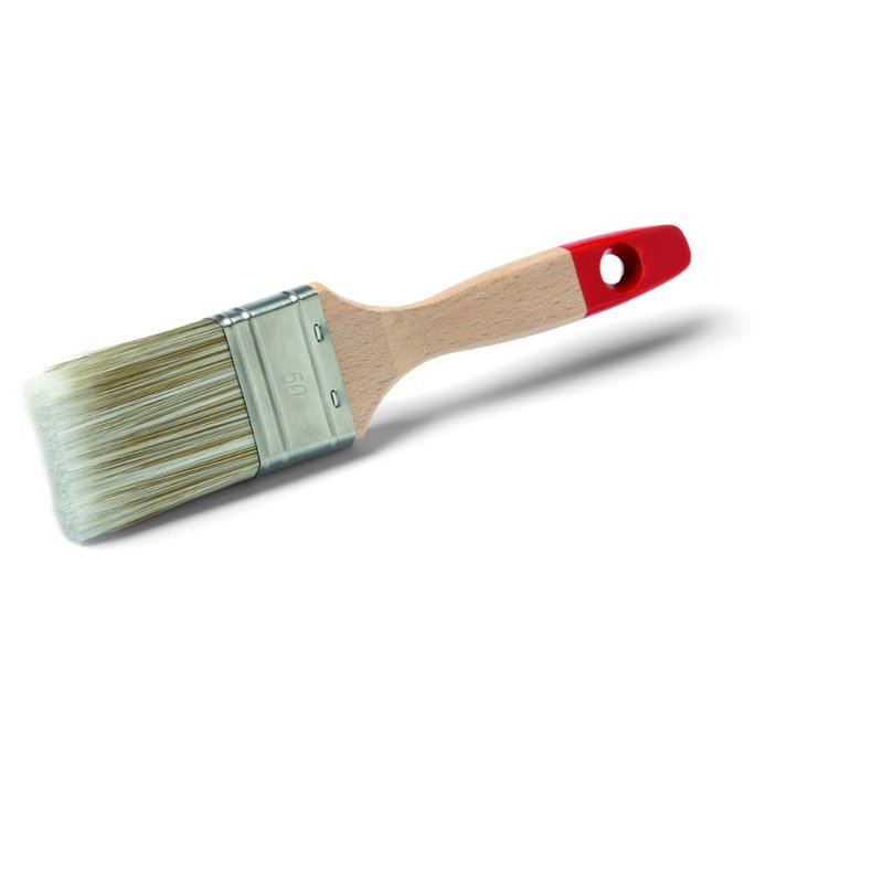 Malerpinsel Breite 50 mm helle Kunststoffborsten