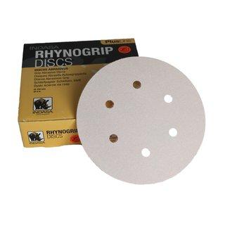 Indasa set 50 150 mm schleifscheiben schleifpapier klett white line 6H P320 weiß