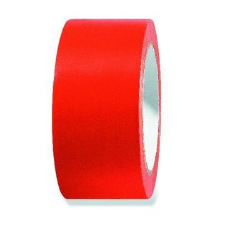 Putzerband PVC 50mm x 33m, orange glatt